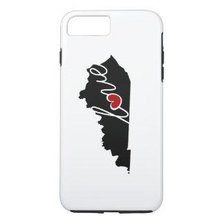 De Liefde van Kentucky! Giften voor de Minnaars iPhone 8/7 Plus Hoesje