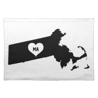De Liefde van Massachusetts Placemat