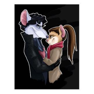 De liefde van muizen briefkaart