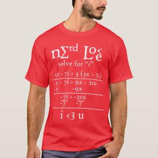 De Liefde van Nerdy T Shirt