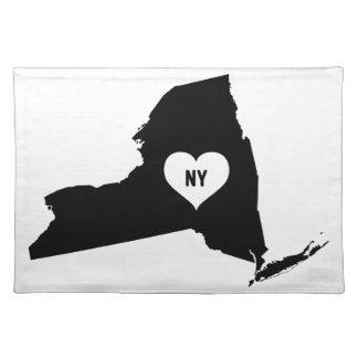 De Liefde van New York Placemat