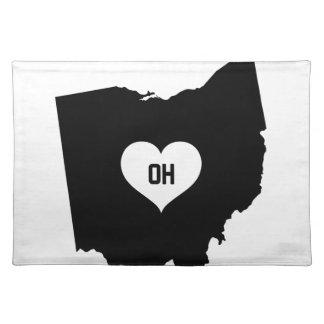 De Liefde van Ohio Placemat