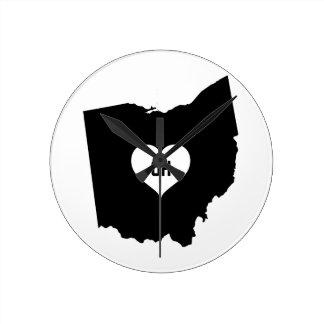 De Liefde van Ohio Ronde Klok