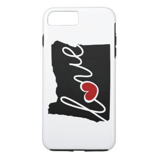 De Liefde van Oregon! Giften voor OF Minnaars iPhone 8/7 Plus Hoesje