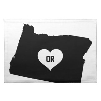 De Liefde van Oregon Placemat