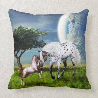 De Liefde van paarden voor altijd Kussen