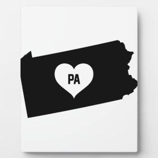 De Liefde van Pennsylvania Fotoplaat