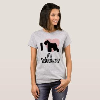 De Liefde van Schnauzer T Shirt