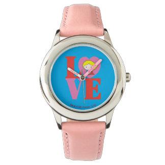 De LIEFDE van Supergirl van Chibi Horloges