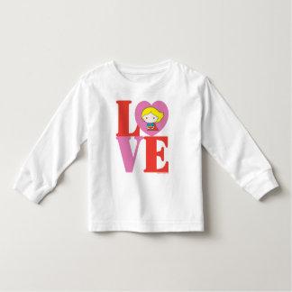 De LIEFDE van Supergirl van Chibi Kinder Shirts
