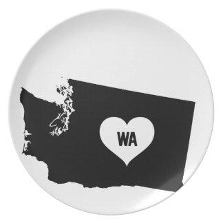 De Liefde van Washington Bord