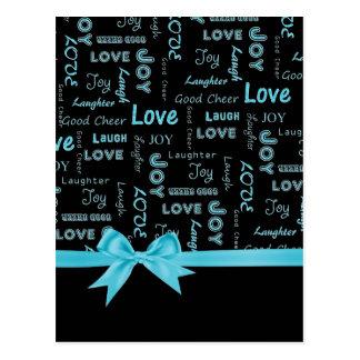 De liefde, Vreugde, Gelach, Lach, Goed juicht Briefkaart