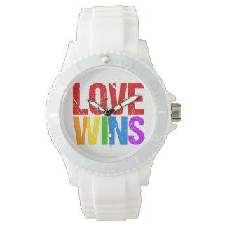 De liefde wint horloges