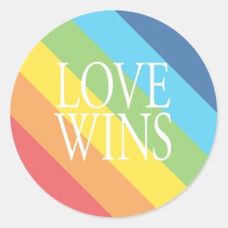 De liefde wint Sticker