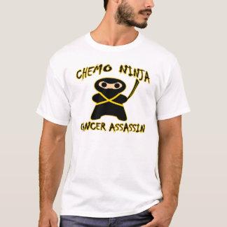 De Liefdes Pittsburg van Ninja van Chemo T Shirt