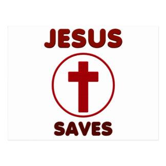 De liefdes van Jesus, de Godsdienst Cross.pn van Briefkaart