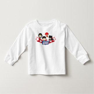 De Liga van de Rechtvaardigheid van Chibi van de Kinder Shirts