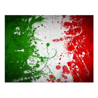 De lijn van Italië Briefkaart