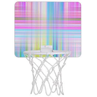 De Lijnen van de pastelkleur Mini Basketbalring