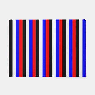 De lijnen van de vlagstrepen van Zuid-Korea kleurt Deurmat