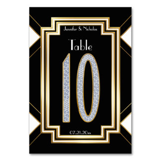 De Lijst Nummer Tien van de Diamanten bruiloft van Kaart