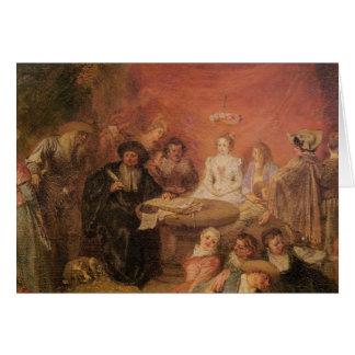 De lijst van de Bruid en van de Bruidegom Briefkaarten 0