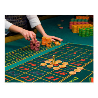 De Lijst van het blackjack met Spaanders Briefkaart