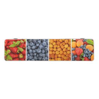 De Lijst van Pong met vruchten en bessendruk
