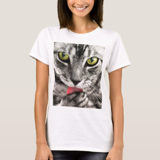De Likken van de kat T Shirt