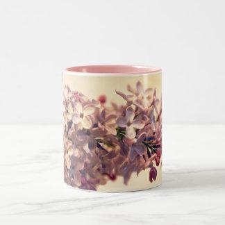 De lila Mok van de Koffie van de Foto