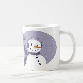 De lila Mok van de Sneeuwman
