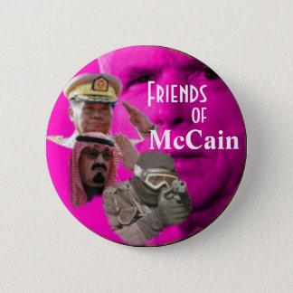 De Lobbyisten van McCain knopen dicht Ronde Button 5,7 Cm