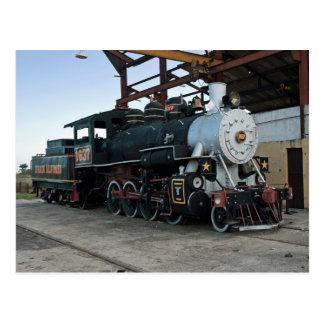 De locomotief van de stoom, Cuba Briefkaart