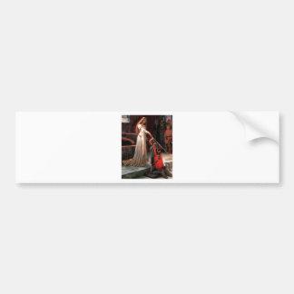 De lofbetuiging - voeg uw afbeelding toe bumpersticker