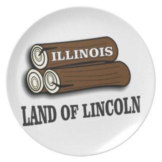 De logboeken van Illinois van Lincoln Bord