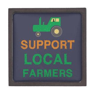 De Lokale Landbouwers van de steun Premium Cadeau Doosje