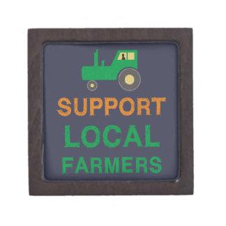 De Lokale Landbouwers van de steun Premium Opbergdoosje