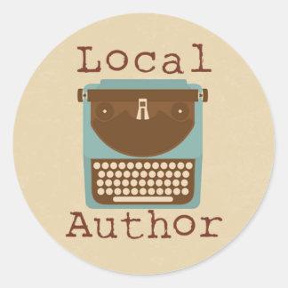 De lokale Schrijfmachine van de Auteur om Sticker