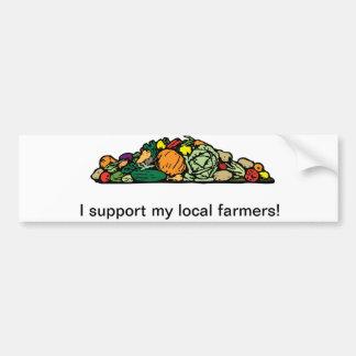 De lokale Sticker van de Bumper van de Landbouwer