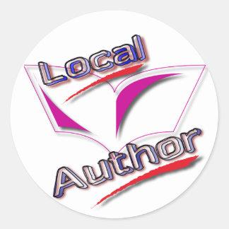 De lokale Stickers van de Auteur