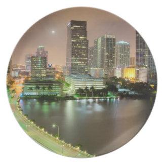De lood van de brug over waterweg aan Miami van de Melamine+bord