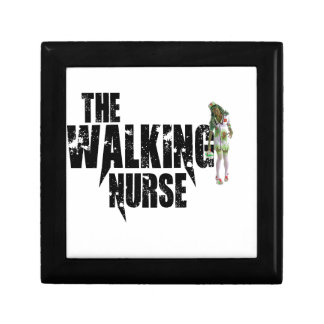 De lopende Verpleegster Decoratiedoosje
