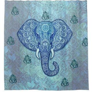 De lord-ganesh-olifant van India art. Gordijn 0