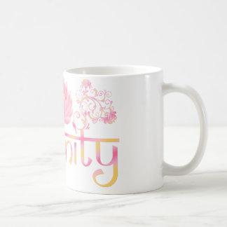 De lotusbloem van de sereniteit koffiemok