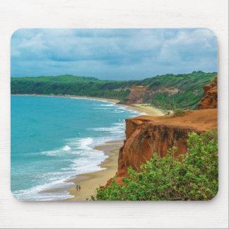 De lucht Scène Pipa Brazilië van het Zeegezicht Muismatten