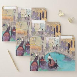 De Lucht van Venetië Plein Documentenmappen