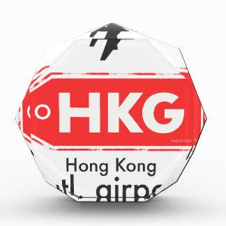 De luchthavencode van Hong Kong HKG Acryl Prijs