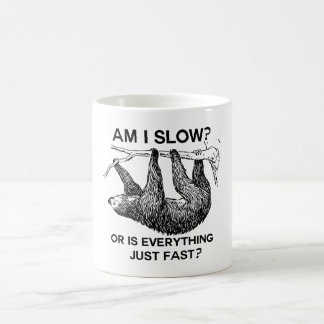 De luiaard ben langzame I? Koffiemok