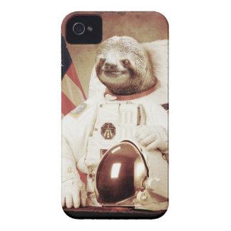 De Luiaard van de astronaut Case-Mate iPhone 4 Hoesje