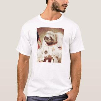 De Luiaard van de astronaut T Shirt
